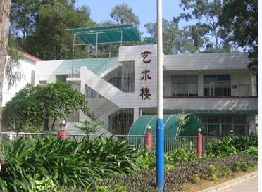 广外校园风景图