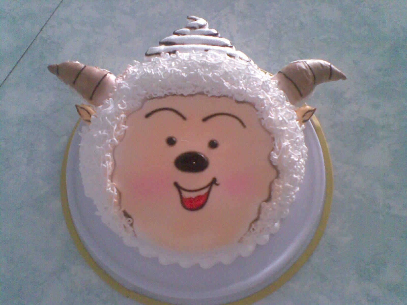 卡通蛋糕美羊羊