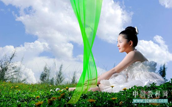 【PS教程】描边路径制作美丽飘逸的纱巾【邀您共赏】 - ☆小乐作品★ - 小乐作品--细品人生