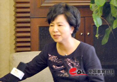 温州市实验小学校长 党委书记 白莉莉专访