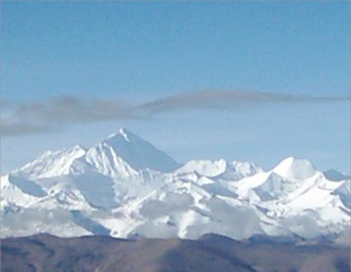 风景名胜-西藏-珠穆朗玛峰(3) - 教师教学素材图片库