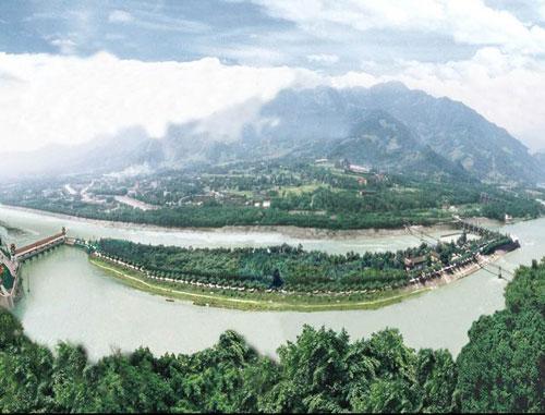 都江堰教学结构示意图图片