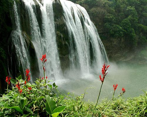 风景名胜 贵州 黄果树瀑布 1 教师教学素材图片库 中国教高清图片