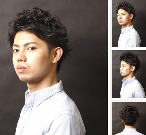 最适合男教师的几款发型图片