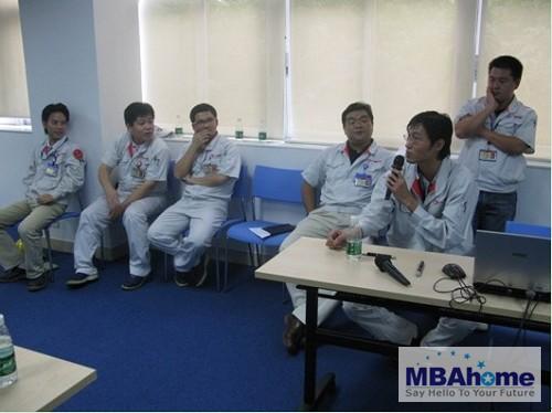 广东工业大学2009级mba广汽丰田现场调研