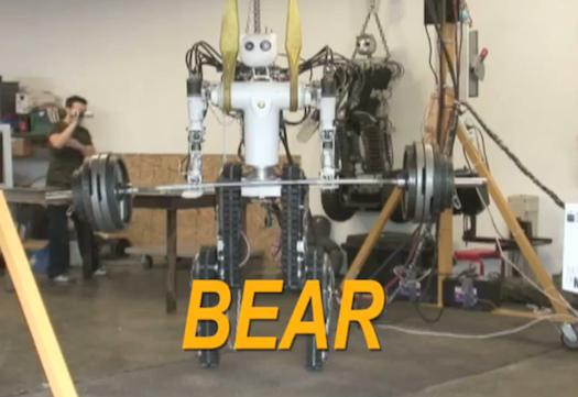 人形BEAR医疗机器人-满足日本抗震之需的搜索救援型机器人