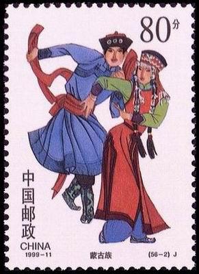 56个民族民风民俗民族服饰-蒙古族 - 教师教学素材库
