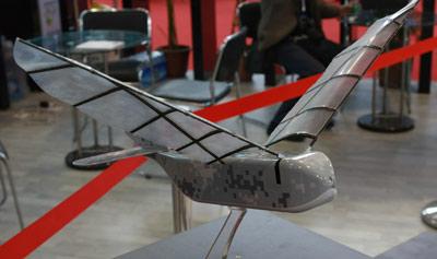 asn-211自主飞行微型扑翼飞行器亮相珠海航展