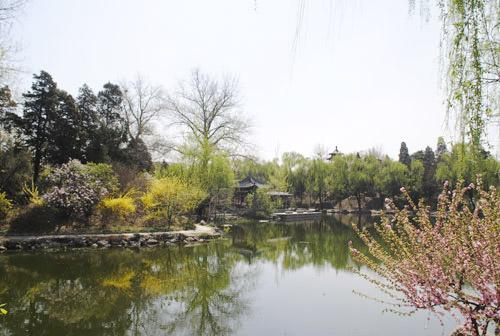 清华大学风光——近春园
