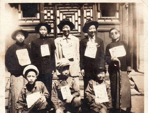 一张老照片——六十年前我演蒋介石