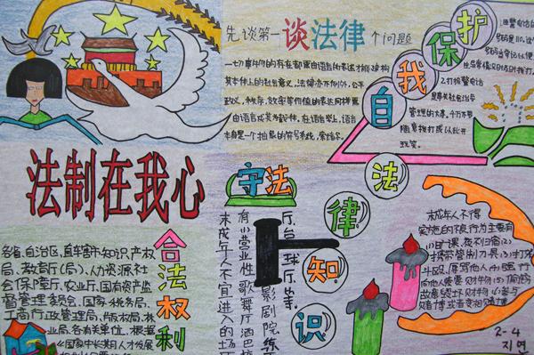 国家宪法日手抄报:国家宪法日手抄报版面设计图片