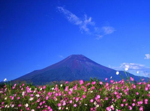 世界风景-日本-富士山(2) - 教师教学素材图片库
